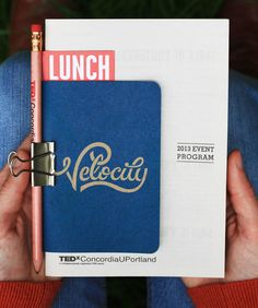 TEDxConcordiaUPortland, Event Program package  by Band
