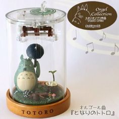 Amazon.com : Studio Ghibli Music Box (My Neighbor Totoro) : Jewelry Music Boxes : Toys & Games