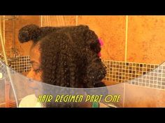 Natural Hair Regimen/Routine: Part Four Breaking Down a Dry Afro - YouTube