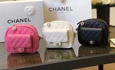 Replica Chanel CC Day Small Camera Case AS0005 White
