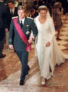 The Royal Order of Sartorial Splendor: Top 10 Best Royal Wedding Dresses: #10. HRH The Duchess of Brabant
