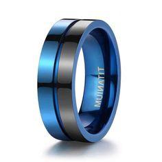 Titanium Mens Rings - Unique Titanium Wedding Bands. Titanium Rings For Men, Mens Gold Rings, Tungsten Mens Rings, Cheap Wedding Rings, Wedding Ring Bands, Engraved Rings, Fashion Rings, Fashion Jewelry, Unique Rings