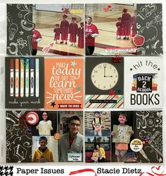 Project Pocket - Back to School by Stacie Dietz for @paperissuesteam