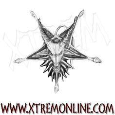 Hebilla para el cinturón carnero con pentagrama invertido XT3799 Accesorios góticos, paganos, celtas y vikingos en nuestra tienda online. ¡Visitanos!