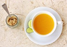 turmeric-tea- Recipe: 1/4 Teaspoon Turmeric Black Pepper 1/4 tsp ginger powder 1tbsp raw honey 2 cups water