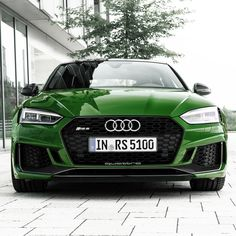 The Audi RS 5 Sportback in Sonoma Green Audi R5, Audi Sport, Beach Body Ready, Rs 5, Power Cars, Motor Speedway, Nascar Racing, Car Show, Classic Cars