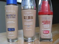 Rola's Fountain of Youth: Current Favorite Drugstore Foundations - Rimmel, Loreal