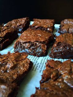 Vegan Fudgy Brownies + a Giveaway! | Whisk and Shout