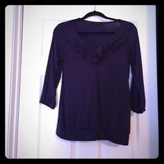 The Limited Tops - Limited Small Purple Dress Top.