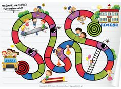 A boardgame with kids and buildings Team Building Activities, Group Activities, Activities For Kids, Social Skills For Kids, Social Work, Printable Board Games, Behaviour Management, Classroom Management, Emotional Development