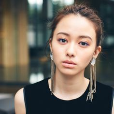 Pin by なつき on 美女 in 2019 Korean Fashionista, Prity Girl, Beauty Makeup, Hair Beauty, Best Photo Poses, Le Jolie, Natural Eye Makeup, Kawaii Girl, Yamamoto