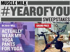 Just share your 2018 fitness goal for a chance to win Peloton indoor exercise bike, $500 cash or hundreds of instant win prizes including FitBits, ear buds, gym bags, products, and more.  #Sweepstakes #Dailyentry