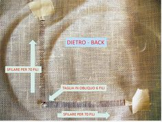 THE SEW THERAPY: PUNTO ANTICO N. 9 - GRIGLIA ANGOLARE Projects To Try, Therapy, Tutorial, Sewing, Blog, Hardanger, Embroidery, Dressmaking, Counseling
