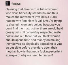 As a female, you don't owe the world to look pretty just because you exist. You don't owe that stranger on the street a smile after he catcalled you.