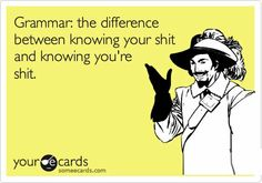 #Grammar your/you're - rule to remember.