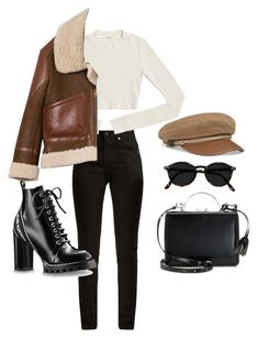 Untitled #5966 by lilaclynn on Polyvore featuring polyvore, fashion, style, Burberry, Yves Saint Laurent, Mark Cross, clothing, YSL, louisvuitton, saintlaurent and yvessaintlaurent