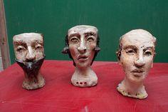 https://flic.kr/p/dzLzq2 | Debra Fritts Sculpture Workshop | Cups by Debra Fritts www.claygeek.com/news/sculpture-workshop-debra-fritts/