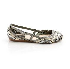 metallic flat - ShoeMint