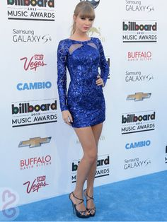 Taylor Swift in Zuhair Murad at the 2013 Billboards