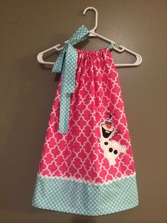 Disney Inspired Olaf from Frozen Applique by LilDucklingsBoutique