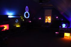 Glow and Seek | Activities For Children | Adventures in the Dark, Rainy Day Play, Sensory Activities | Play At Home Mom