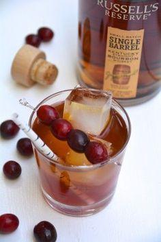 Holiday Cocktail: Cranberry Bourbon Sour