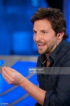 American actor Bradley Cooper attends 'El Hormiguero' TV Show at Vertice Studios on March 31, 2011 in Madrid, Spain.