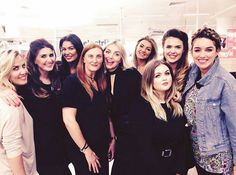 The lovely Boots Trafford team with Lisa PD xx
