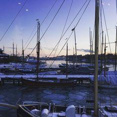 Stockholm 2016.01.22 #sthlm #stockholm #sweden #ice #winter #archipelago #mälaren #earth #north #djurgården #sailboat #boat #nature #scandinavia #europe #sverige @earthpix by johgrana