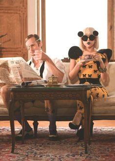 Lady Gaga and Alexander Skarsgaard