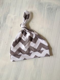 Baby hat! So obsessed with the chevron print!