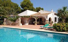 Villa+Trencall+Javea+(Xabia)++Beautiful+Gardens+Private+Pool,+WIFI+Cable+TV+++Holiday Rental in La Granadella Beach from @HomeAwayUK #holiday #rental #travel #homeaway