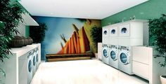 Lavanderia self-service para condomínios