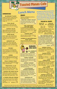 The Toasted Mango Cafe - Bringing Service Back to Sarasota, FL - 430 N. Tamiami Trail, Sarasota, FL 34236