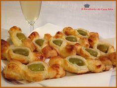 Caramelle di Pasta Sfoglia alle Olive