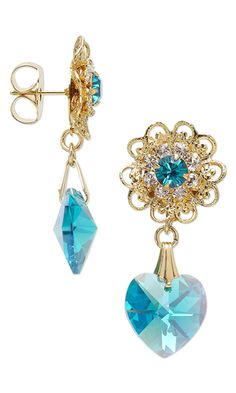 Earrings with SWAROVSKI ELEMENTS - Fire Mountain Gems and Beads