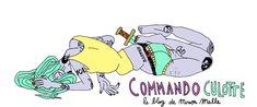 Commando Culotte || le blog de Mirion Malle Barbie, Good To See You, Illustration, Pikachu, Character Design, Symbols, Loin, Forts, Comme
