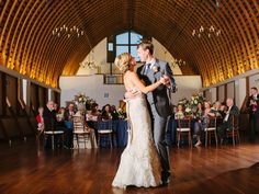 20 First Dance Cover Song Ideas | Photo by: Sara Logan Photography | TheKnot.com