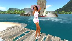 Martinas modeling Journey: VSSR AC:  Summer Splash Pink Secret Sale, The Martian, Virtual World, Modeling, Blogging, Applique, Journey, Summer, Pink