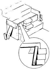 Fix crumbling concrete steps