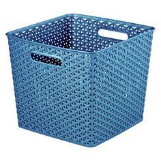 y weave extra large storage bin set of 4 room essentials storage baskets room essentials. Black Bedroom Furniture Sets. Home Design Ideas