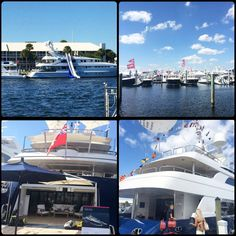 """Last weekend, One of our agents attended the International Boat Show, an annual event in Ft. Lauderdale (which is the """"Yachting Capital of the World"""")! The International Boat Show is great for boating enthusiasts! It is recommended to purchase tickets and plan your trip at least a year in advance, as it does get sold out quickly. The Boat Show features yacht builders, designers, and a wide variety of boats and see vessels on display. Call us today at 708-974-1300 to for more info.!"""