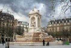 Fontaine Saint-Sulpice Paris 2008-03-14 - Place Saint-Sulpice — Wikipédia