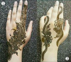 Beautiful mehandi....