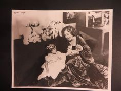 """VINTAGE PHOTO OF ROSE O'NEILL 8"""" X 10"""" 1981   MINT"""