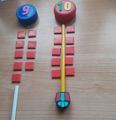 Doble y mitad. Toys, Doubles Facts, Creativity, Toy, Games