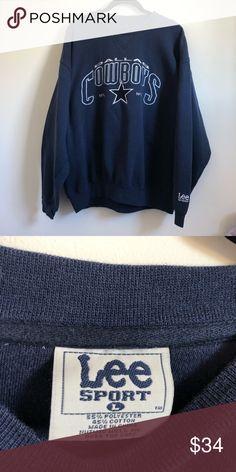 40a944ba1 Vintage Dallas Cowboys sweatshirt Cool vintage Dallas Cowboys Crewneck  Sweatshirt. 90s retro NFL apparel.