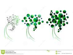 geometric-green-tree-logo-styling-69058624.jpg (1300×977)