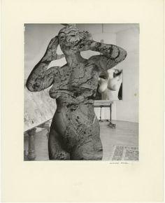 Marcel Bovis. Le modèle et son double 1976. Photomontage
