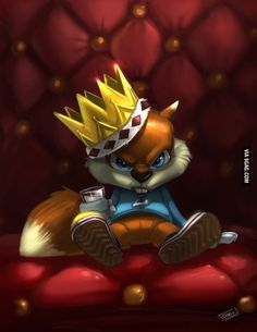 conker bad fur day fan art by sonic Conkers Bad Fur Day Copy Happy Squirrel, Squirrel Art, Conker Live And Reloaded, Super Smash Bros, Geeky Wallpaper, Diddy Kong Racing, Banjo Kazooie, Conkers, Nintendo Characters